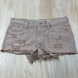Lucky Brand The Cut Off Distressed Shorts